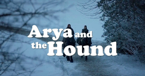 arya and the hound trailer spinoff