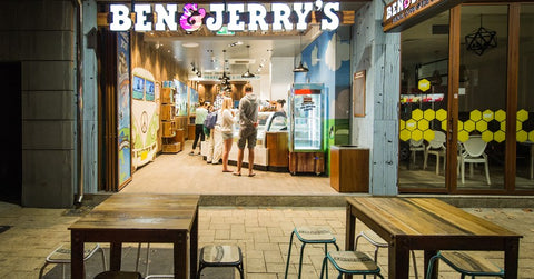 ben and jerrys storefront