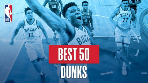 nba best 50 dunks 2019-19 season