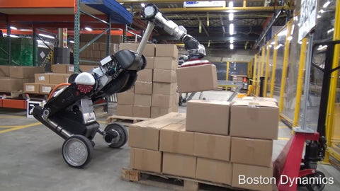 boston dynamics warehouse robot
