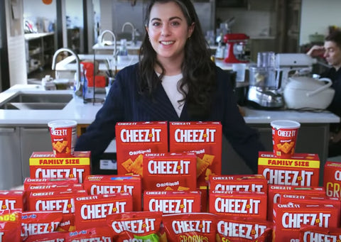 claire gourmet cheez-its