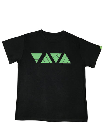 go green triangles