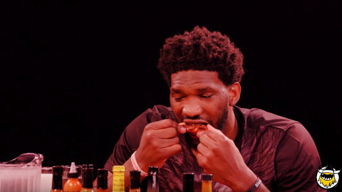 joel embiid hot wings