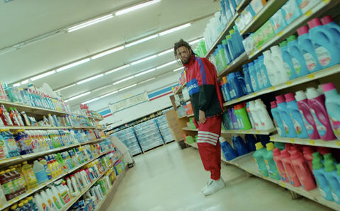 j cole grocery store 2019