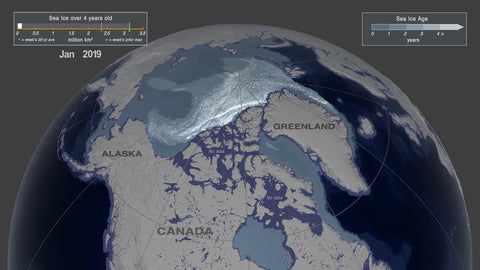 nasa arctic ice