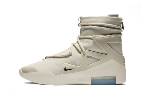 nike air fear of god 1 bone/black