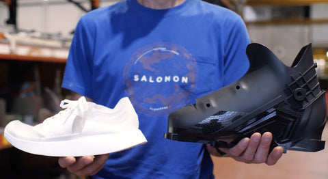 salomon shoe ski boot