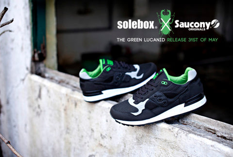 free shipping 9e6d1 d4d4a Solebox x Saucony Shadow 5000 Green Lucanid | Superego