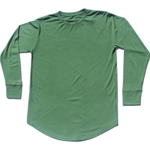 Hemp Long Sleeve Scoop