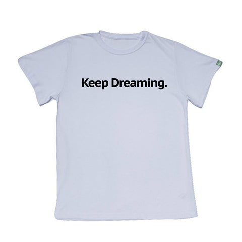 KEEP DREAMING Hemp T-shirt