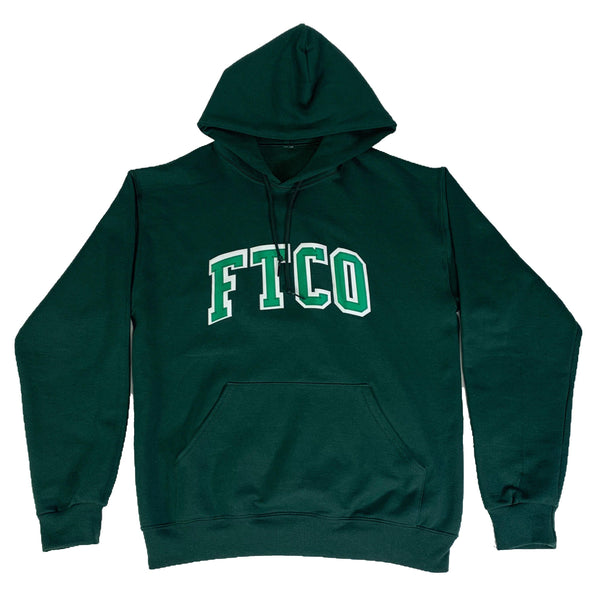 VARSITY HOODIE - Green - Foreign Trade Co