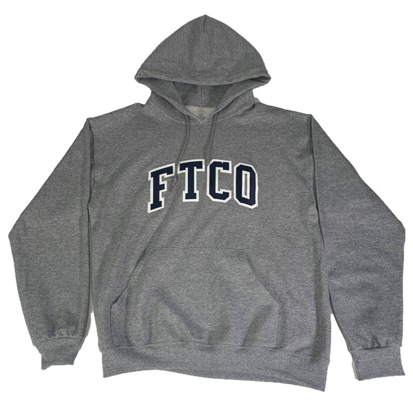 VARSITY HOODIE - Grey - Foreign Trade Co
