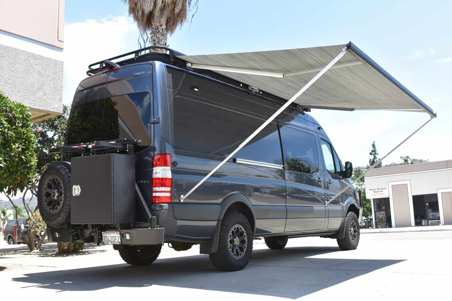Fiamma F80S Roof Mounted Campervan Motorhome Wind Out ...