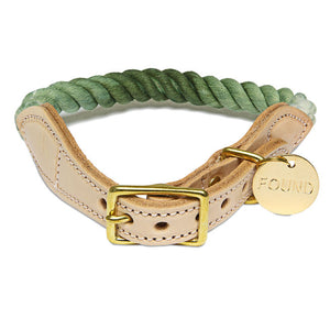 Olive Ombre Dog Collar
