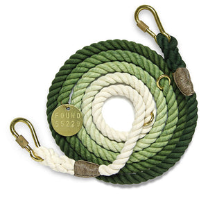 Olive Ombre Rope Dog Leash