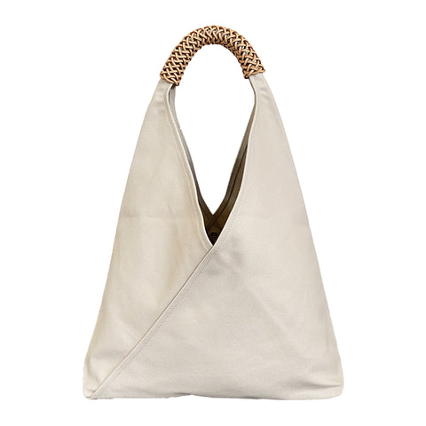 Large Woven Triangle Bag x Kamaro'an