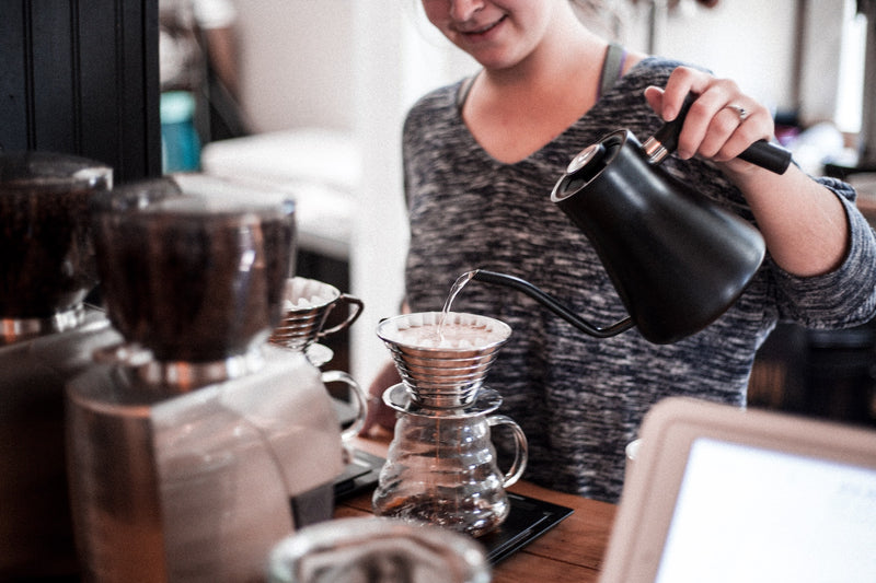Brew Sustainably with a Pour Over