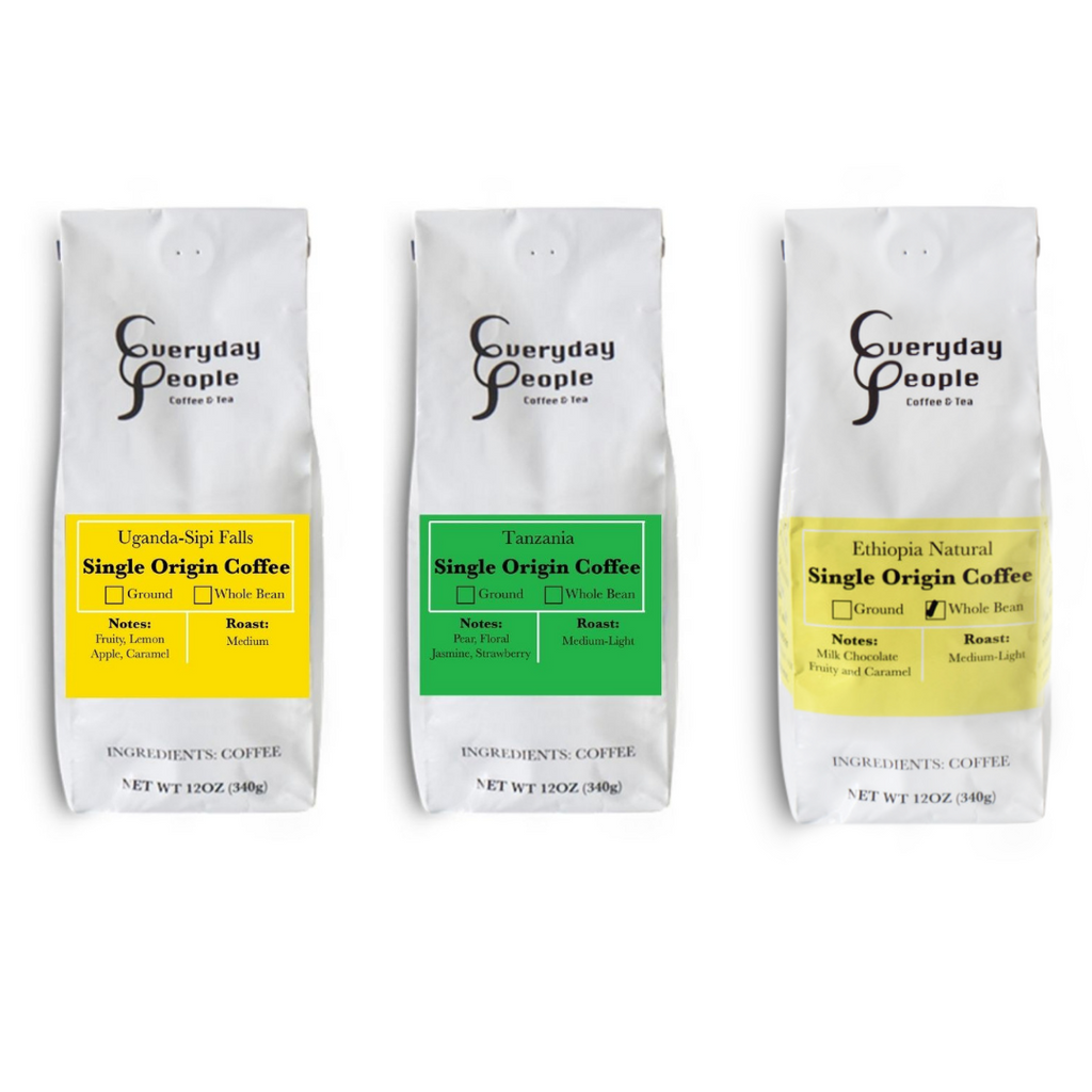 Retro Black & White Stripes Porcelain Mug- 12oz