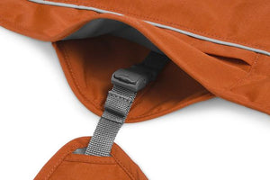 Ruffwear Overcoat FUSE™ Dog Harness Coat - Canyonlands Orange