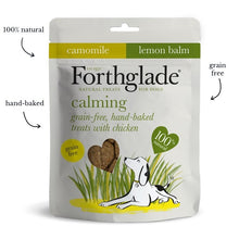 Load image into Gallery viewer, Forthglade - Grain Free Hand Baked Dog Treats with Chicken, Camomile and Lemon Balm