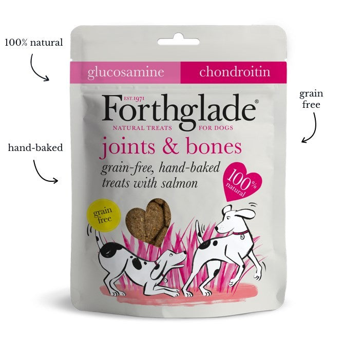 Forthglade - Grain Free Hand Baked Dog Treats with Salmon