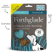 Load image into Gallery viewer, Forthglade - National Trust soft bite treats with salmon and herring