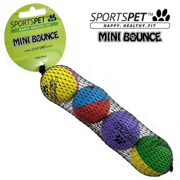 Sportspet Mini High Bounce - 4 pack