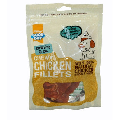 Good Boy Chewy Chicken Fillets - 80g