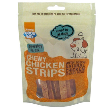 Good Boy Chewy Chicken Strips - 100g