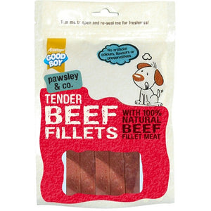 Good Boy - Tender Beef Fillets - 90g