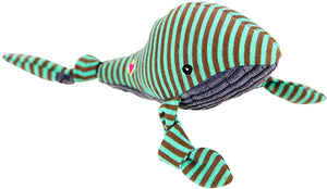 HuggleHounds Plush Knotties - Whale, Small