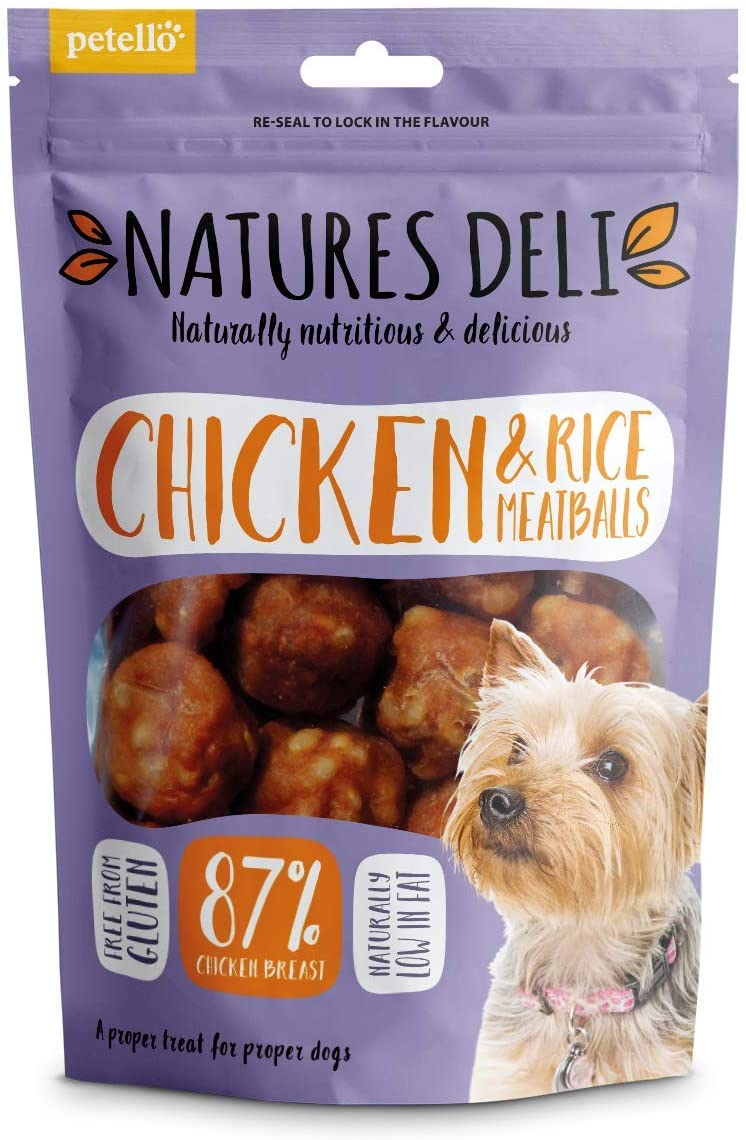 Natures Deli Chicken And Rice Meatball