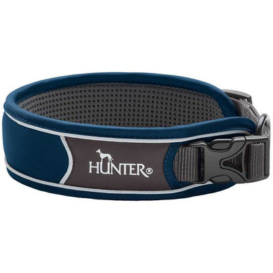 Hunter 'Divo' Collar - Dark Blue (Reflective)