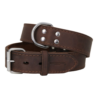 Earthbound Ox Leather Collar - Brown