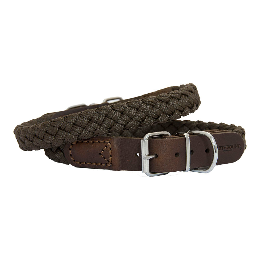 Earthbound Braided Collar - Brown