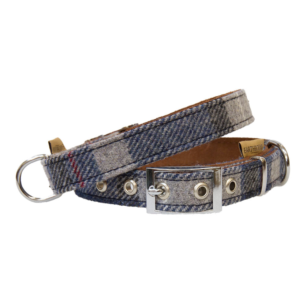 Earthbound Tweed Collar - Grey
