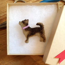 Load image into Gallery viewer, Hand-made Chihuahua Brooch