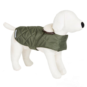 Mutts & Hounds Olive Quilted Coat