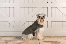 Load image into Gallery viewer, Mutts & Hounds Olive Waxed Coat