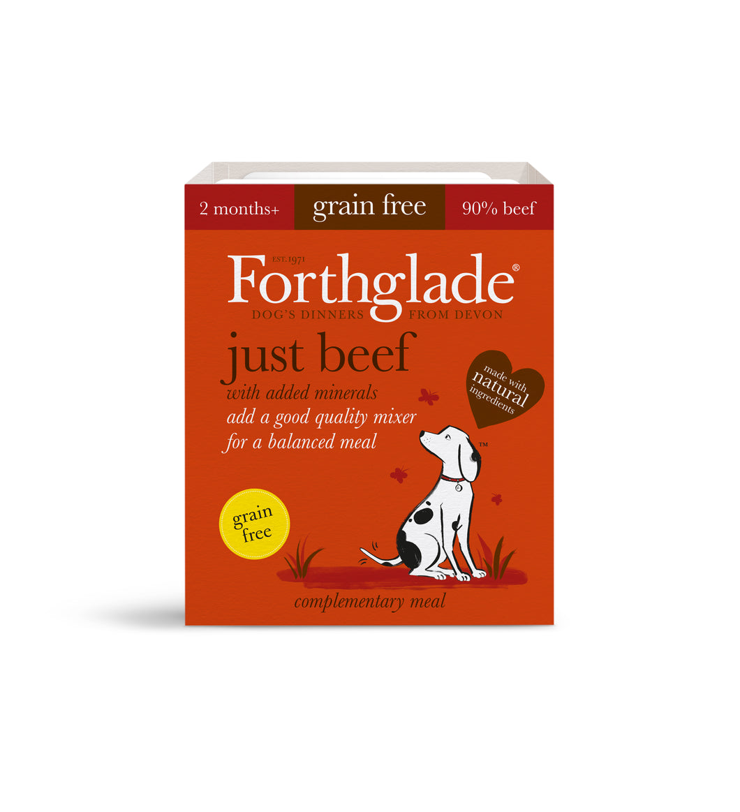 Just Beef Natural Grain Free Wet Dog Food