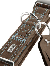 Load image into Gallery viewer, Hunter 'Lucca' Leather Leash - Walnut Grey