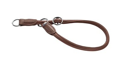 Hunter Round and Soft Training Collar - Brown