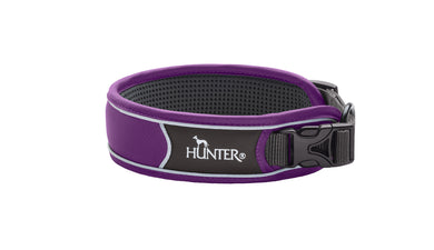Hunter 'Divo' Collar - Violet (Reflective)