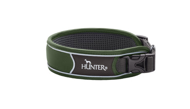 Hunter 'Divo' Collar - Green (Reflective)