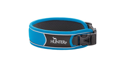 Hunter 'Divo' Collar - Blue (Reflective)