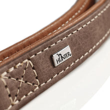 Load image into Gallery viewer, Hunter 'Porto' Leather Collar -  Cognac