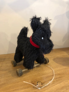 Adorable Scottie Collectable Dog on Wheels