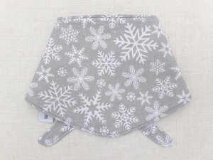 *Exclusive* Grey Snowflake Bandana