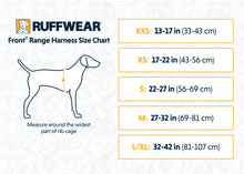 Load image into Gallery viewer, NEW Ruffwear Front Range® Dog Harness in Huckleberry Blue