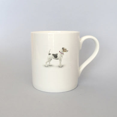 Beautiful Bone China Jack Russell Mug